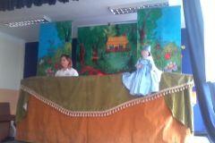 Przedszkolne spotkanie ze sztuką teatralną