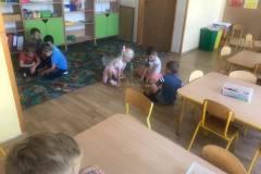 Zabawy na dywanie