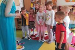 Ogólnopolski Dzień Przedszkolaka, zabawy z Elzą w Krainie Lodu